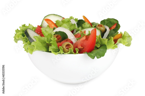 Fotobehang Salade salad
