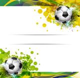 Fototapety Banner Calcio, Mondiali
