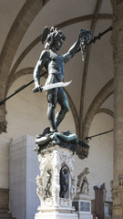 Benvenuto Cellini's Perseus with the Head of Medusa