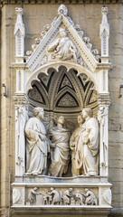 Statue of Quattro Santi Coronati, the sculptor Nanni di Banco. C