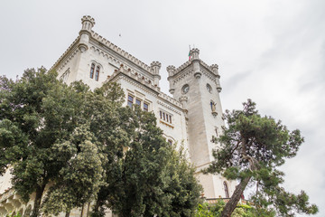 The Miramare Castle in Trieste