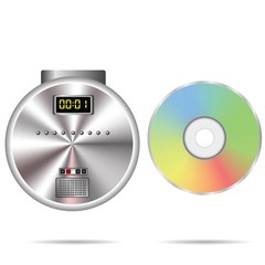 CD player and compact disc