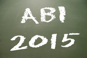 Kreidetafel - ABI 2015