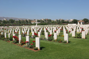 Cemetery at Souda