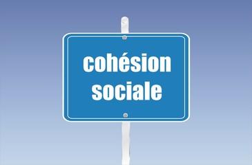 panneau cohésion sociale