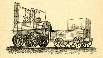 Locomotion No. 1 for Stockton-Darlington Railway