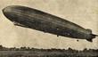 Leinwandbild Motiv Zeppelin airship