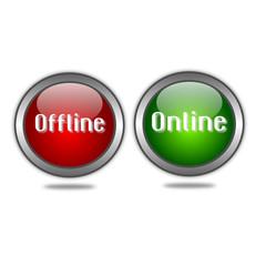 Bottoni offline e online