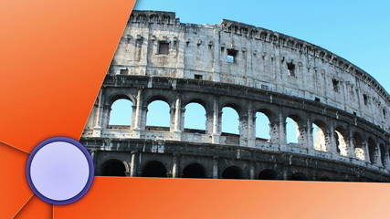 Coliseum Slideshow, with Alpha Channel, Loop