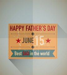 Father's day ticket