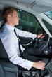 Driving man