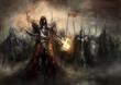 canvas print picture - war