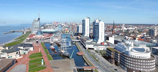 Bremerhaven, Blick von oben