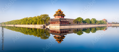Papiers peints Con. Antique Verbotene Stadt in Beijing Panorama