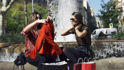 Woman putting on orange jacket, slow motion shot at 240fps, stea