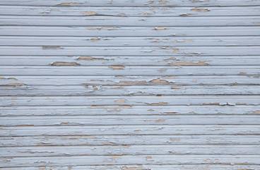 Alter abgenutzter Holz Hintergrund in hellblau