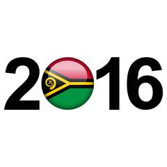 Vanuatu flag button