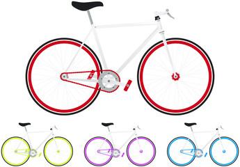 urban fixie, vélo de ville
