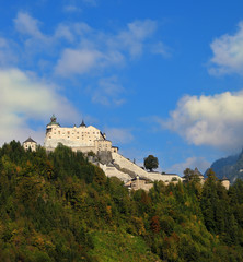 Majestic  Burg Hohenwerfen