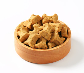 Dog biscuit bones