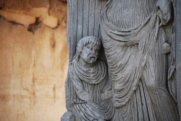 Arch of Constantine in Rome next Coliseum