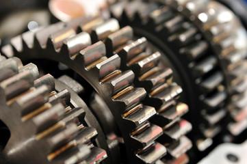 Gear gearbox.