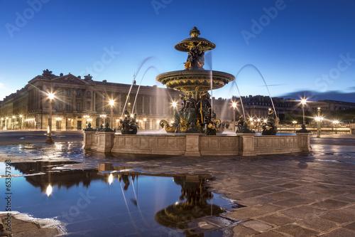 Fontaine Place de la Concorde Paris