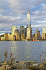 World Trade Center Freedom Tower in Lower Manhattan New York Cit