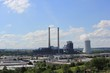 Leinwanddruck Bild - Kohlekraftwerk in Heilbronn