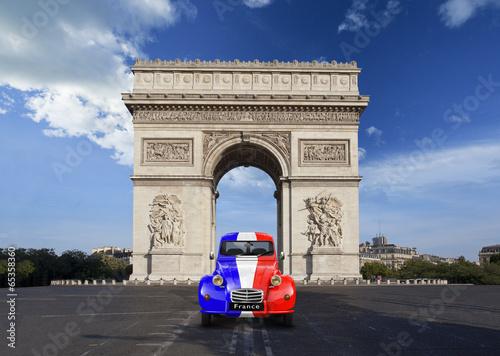 Arc de triomphe Paris Nostalgie