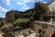 Постер, плакат: The Theatre of Marcellus in Rome Italy
