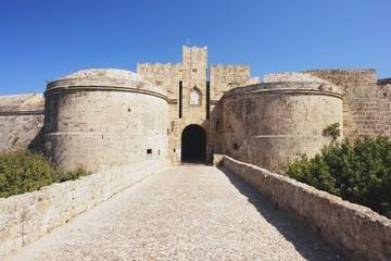 Rhodes, Medieval walls