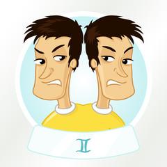 Cartoon horocope sign