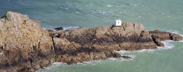 Jerbourg Point on Guernsey