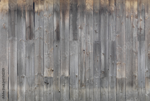 Tuinposter Hout Gray wooden wall texture