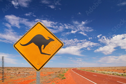 Foto op Canvas Australië Australian endless roads