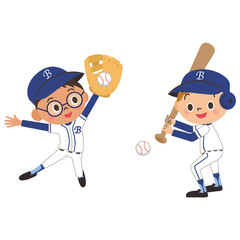 子供と野球
