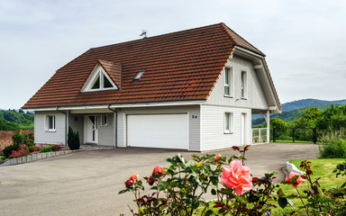 Renovated house in small alsace village