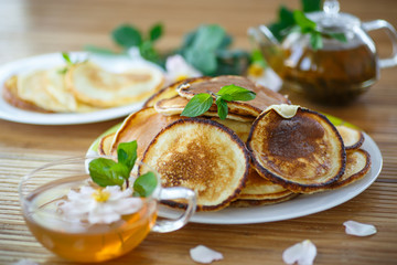 sweet delicious pancakes