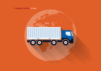 Transportation Concept - Truck