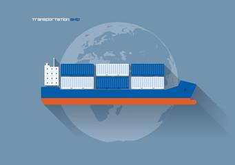 Transportation Concept - Ship