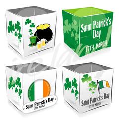 4 cube saint patrick's day