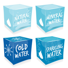 4 cube water