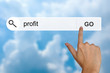 financial profit on search toolbar