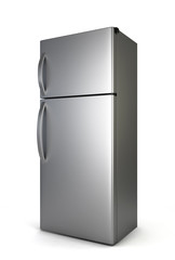 Steel fridge