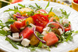 Tomato and Watermelon Salad