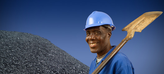 South African or African American miner