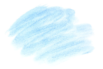 Light blue watercolor brush strokes