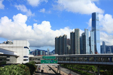 Kowloon's Skyline