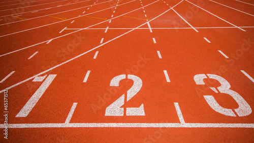 Athletics track - 65371512
